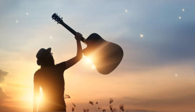 guitar-outiside-sunset